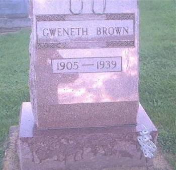 BROWN, GWENETH - Clayton County, Iowa | GWENETH BROWN