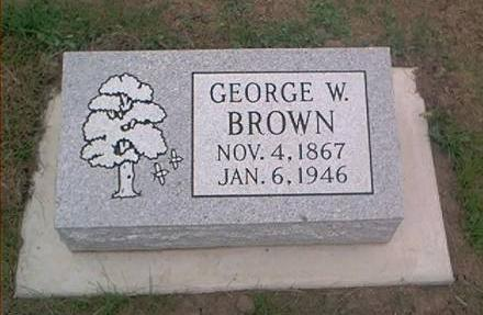 BROWN, GEORGE W. - Clayton County, Iowa | GEORGE W. BROWN