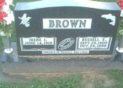 BROWN, RUSSELL E. & IRENE I. - Clayton County, Iowa | RUSSELL E. & IRENE I. BROWN