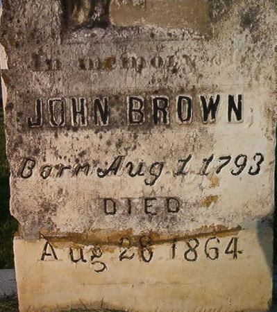 BROWN, JOHN - Clayton County, Iowa | JOHN BROWN