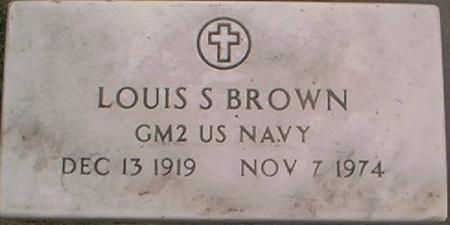 BROWN, LOUIS S. - Clayton County, Iowa | LOUIS S. BROWN