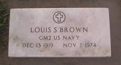 BROWN, LOUIS S - Clayton County, Iowa | LOUIS S BROWN