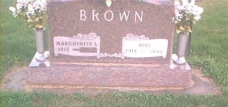 BROWN, MIKE & MARGUERITE L. - Clayton County, Iowa | MIKE & MARGUERITE L. BROWN