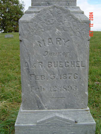 BUECHEL, MARY - Clayton County, Iowa | MARY BUECHEL