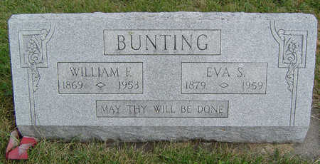 BUNTING, WILLIAM F. - Clayton County, Iowa | WILLIAM F. BUNTING