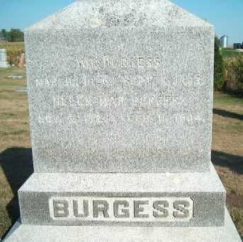 BURGESS, HELEN MAR - Clayton County, Iowa | HELEN MAR BURGESS