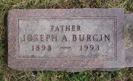 BURGIN, JOSEPH A. - Clayton County, Iowa | JOSEPH A. BURGIN