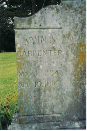 CARPETER, JOHN  J. - Clayton County, Iowa   JOHN  J. CARPETER