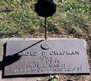 CHAPMAN, HAROLD D. - Clayton County, Iowa | HAROLD D. CHAPMAN
