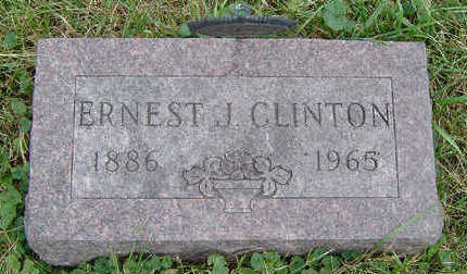 CLINTON, ERNEST J. - Clayton County, Iowa | ERNEST J. CLINTON