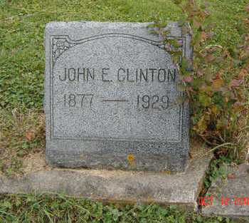 CLINTON, JOHN E. - Clayton County, Iowa | JOHN E. CLINTON