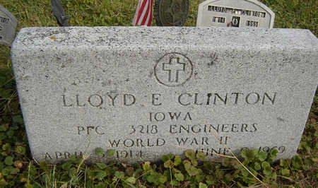 CLINTON, LLOYD E. - Clayton County, Iowa | LLOYD E. CLINTON