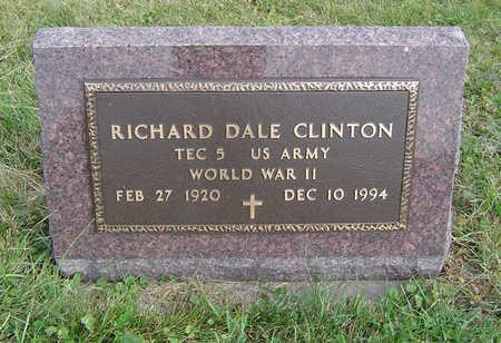 CLINTON, RICHARD DALE - Clayton County, Iowa   RICHARD DALE CLINTON