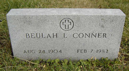 CONNER, BEULAH L. - Clayton County, Iowa | BEULAH L. CONNER