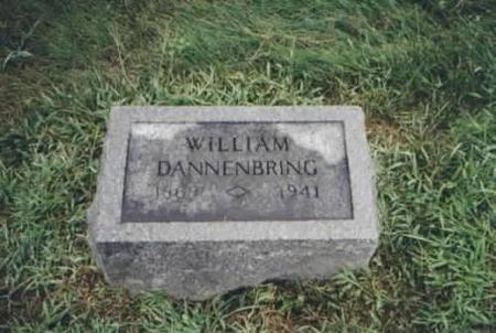 DANNENBRING, WILLIAM - Clayton County, Iowa | WILLIAM DANNENBRING