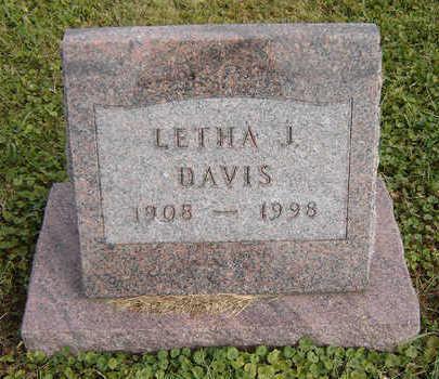 DAVIS, LETHA J. - Clayton County, Iowa | LETHA J. DAVIS