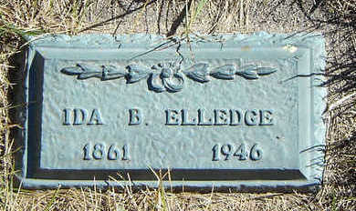 ELLEDGE, IDA B. - Clayton County, Iowa | IDA B. ELLEDGE