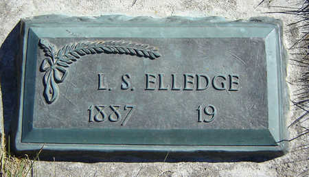ELLEDGE, LYMAN S. - Clayton County, Iowa | LYMAN S. ELLEDGE