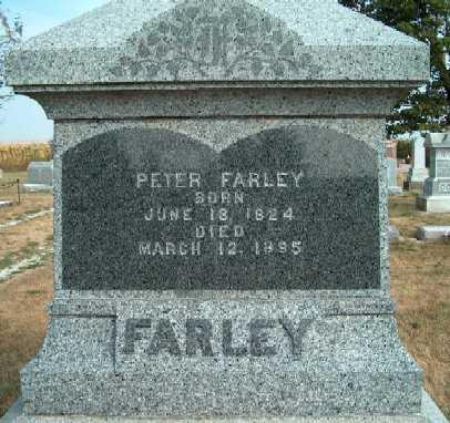FARLEY, PETER - Clayton County, Iowa | PETER FARLEY