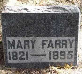 FARRY, MARY - Clayton County, Iowa | MARY FARRY