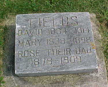 FIELDS, MARY - Clayton County, Iowa | MARY FIELDS
