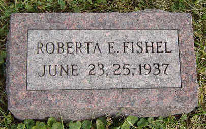 FISHEL, ROBERTA E. - Clayton County, Iowa | ROBERTA E. FISHEL