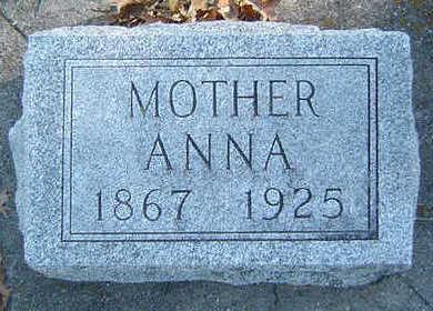 FRIEDLEY, ANNA - Clayton County, Iowa   ANNA FRIEDLEY
