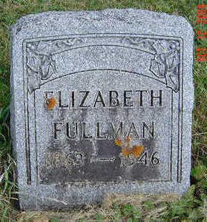 FULLMAN, ELIZABETH - Clayton County, Iowa | ELIZABETH FULLMAN