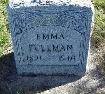 FULLMAN, EMMA - Clayton County, Iowa | EMMA FULLMAN