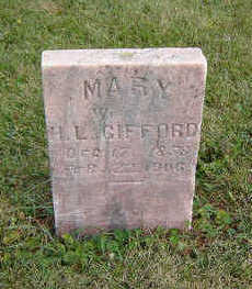 GIFFORD, MARY - Clayton County, Iowa | MARY GIFFORD
