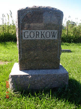 GORKOW, FAMILY STONE - Clayton County, Iowa | FAMILY STONE GORKOW