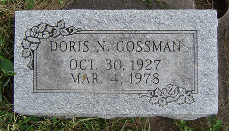 CORSON GOSSMAN, DORIS N. - Clayton County, Iowa | DORIS N. CORSON GOSSMAN