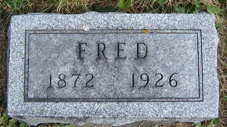 GREVE, FRED - Clayton County, Iowa   FRED GREVE