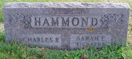 HAMMOND, SARAH E. - Clayton County, Iowa | SARAH E. HAMMOND