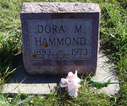 HAMMOND, DORA M. - Clayton County, Iowa | DORA M. HAMMOND