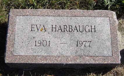 HARBAUGH, EVA - Clayton County, Iowa | EVA HARBAUGH
