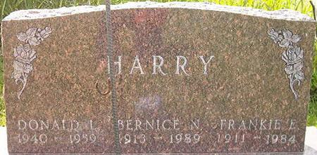 HARRY, FRANKIE E. - Clayton County, Iowa | FRANKIE E. HARRY