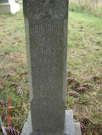 HENNESEY, HENNORAH - Clayton County, Iowa | HENNORAH HENNESEY
