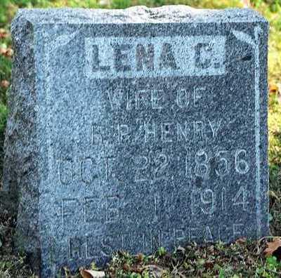 RACHKEMINER HENRY, LENA C. - Clayton County, Iowa | LENA C. RACHKEMINER HENRY