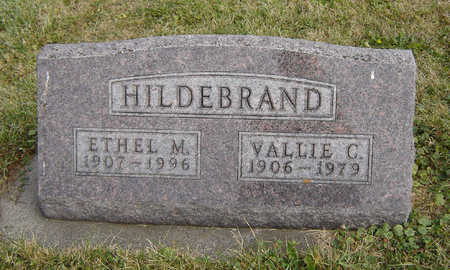 HILDEBRAND, VALLIE C. - Clayton County, Iowa | VALLIE C. HILDEBRAND