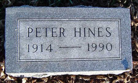 HINES, PETER - Clayton County, Iowa | PETER HINES