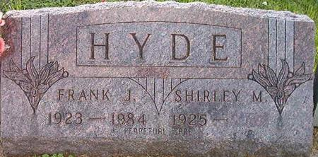 HYDE, FRANK J. - Clayton County, Iowa | FRANK J. HYDE