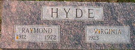 HYDE, RAYMOND - Clayton County, Iowa | RAYMOND HYDE