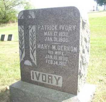 IVORY, MARY - Clayton County, Iowa | MARY IVORY