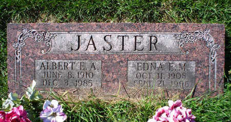 JASTER, ALBERT E. A. - Clayton County, Iowa | ALBERT E. A. JASTER