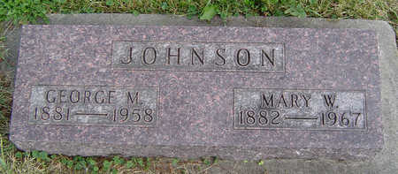 JOHNSON, GEORGE M. - Clayton County, Iowa | GEORGE M. JOHNSON