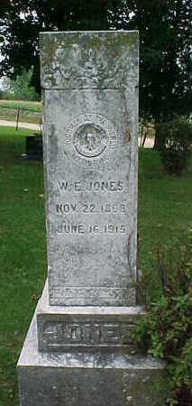 JONES, W.  E. - Clayton County, Iowa | W.  E. JONES