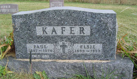 KAFER, ELSIE - Clayton County, Iowa | ELSIE KAFER