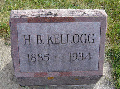 KELLOGG, HARRY BENJAMIN - Clayton County, Iowa | HARRY BENJAMIN KELLOGG