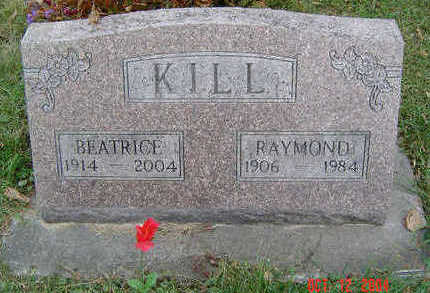 KILL, BEATRICE - Clayton County, Iowa | BEATRICE KILL